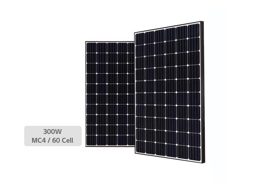 پنل خورشیدی ۳۰۰ وات LG مدل LG 300S1C Black